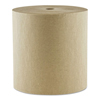 "Mor-Soft Hardwound Roll Towels,1-Ply, 8"" x 800 ft, Kraft, 6/Carton"