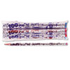 Moon Products Moon Products Decorated Motivational Pencil MPD 7448B