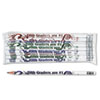 Moon Products Moon Products Decorated Motivational Pencil MPD 7865B