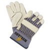 Safety-zone-leather-gloves: Memphis™ Mustang Leather Palm Gloves