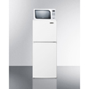 Summit Appliance Frost-Free Refrigerator-Freezer-Microwave Combination, Thin-Line Width SMA MRF71ES
