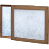 Air and HVAC Filters: Flanders - Modified Pinch Frame w/Notch - 25x25x2