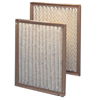 Air and HVAC Filters: Purolator - Mono Pleat Medium Efficiency Filters, MERV Rating : 7