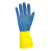 Gloves Neoprene Gloves: Safety Zone - Neoprene Flock Lined Gloves - Medium