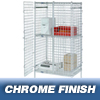 "Shelving and Storage: Nexel Industries - Security Shelving Unit, L 36""x W 18""x H 66"""