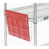 "metal shelving units: Nexel Industries - Document Holder, Size 12-3/8""L x 2""W x 8-5/8""H"