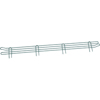 "metal shelving units: Nexel Industries - Green Shelf Ledge, Size 4""H x  60""W"
