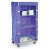 Nexel Industries Storage Cart Cover, Color: Blue Nylon, Size 36W x 18D x 63H NEX CO1836BL