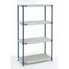 metal shelving units: Nexel Industries - Nexelite Shelving Unit Assembly