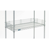 Nexel Industries Chrome Shelf Ledge, Size 4H x  18W NEX AL418C