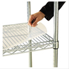 "Shelving and Storage: Nexel Industries - Clear Shelf Mat, Size 36""W x 18""D"