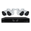 Cameras Accessories Web Cameras: Eight-Channel Lite HD Analog Video Security System with HDD and HD Wired Cameras