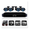 Night Owl Night Owl Four-Channel Smart HD Video Security System with Four 720p HD Cameras NGT BA720414