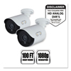 Cameras Accessories Web Cameras: Add-On HD Wired Security Bullet Cameras