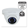 Cameras Accessories Web Cameras: Add-On HD Wired Audio-Enabled Security Dome Camera