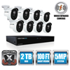 Night Owl Night Owl 8 Channel 5 MP Extreme HD Video Security DVR NGTXHD50288PB