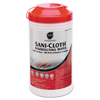 cleaning chemicals, brushes, hand wipers, sponges, squeegees: Sani Professional® Sani-Cloth® Disinfecting Surface Wipes