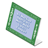 "Nu Dell NuDell™ Themed ""Safety First"" L-Shaped Sign Holder NUD 35485SFG"