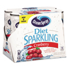 Juice and Spring Water: Ocean Spray® Sparkling Diet Cranberry Juice