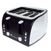 Original Gourmet Food Company Coffee Pro 4-Slice Multi-Function Toaster OGF OG8166