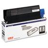 Okidata Oki 43034804 Toner (Type C6), 1500 Page-Yield, Black OKI 43034804