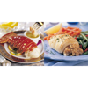 omaha steak or julian: Omaha Steaks - Lobster Tails & Stuffed Sole w/Scallops & Crabmeat