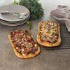 omaha steak or julian: Omaha Steaks - Pulled Pork Artisan Flatbread & Steak Lover's Artisan Flatbread