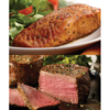 omaha steak or julian: Omaha Steaks - Marinated Salmon Filets, Filet Mignon