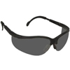 Crews Klondike Black Frame Grey Lens Safety Spectacle ORS 135-KD112