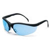 Crews Klondike Black Frame Light Blue Lens Softy ORS 135-KD113
