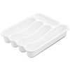Office Settings Office Settings 5 Compartment Cutlery Tray OSI 5CCTWH