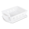 Office Settings Office Settings 2-Piece Drain Rack Sink Set OSI DR02WH