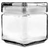 Office Settings Office Settings Stackable Glass Storage Jars OSI GJ01Q