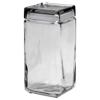 Office Settings Office Settings Stackable Glass Storage Jars OSI GJ02Q
