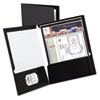 Oxford Oxford® Laminated Two-Pocket Portfolio OXF 51706