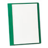 Clean and Green: Oxford® Clear Front Standard Grade Report Cover