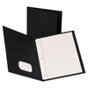 Tops Oxford™ Leatherette Two Pocket Portfolio with Fasteners OXF 57776