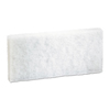 cleaning chemicals, brushes, hand wipers, sponges, squeegees: Light Duty White Scour Pads