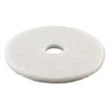 Boardwalk Standard 13-Inch Diameter Polishing Floor Pads BWK 4013WHI