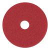 Boardwalk Standard 16-Inch Diameter Buffing Floor Pads BWK 4016RED