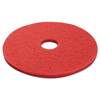 Boardwalk Standard 17-Inch Diameter Buffing Floor Pads BWK 4017RED