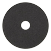 Boardwalk Standard 18-Inch Diameter Stripping Floor Pads, Black BWK 4018BLA