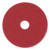 Boardwalk Standard 18-Inch Diameter Buffing Floor Pads BWK 4018RED
