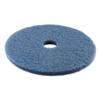 Boardwalk Standard 20-Inch Diameter Scrubbing Floor Pads BWK 4020BLU