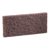 cleaning chemicals, brushes, hand wipers, sponges, squeegees: Heavy-Duty Brown Pads