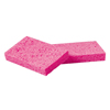cleaning chemicals, brushes, hand wipers, sponges, squeegees: Small Pink Cellulose Sponges