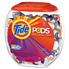 cleaning chemicals, brushes, hand wipers, sponges, squeegees: Tide® Pods