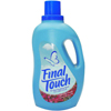 cleaning chemicals, brushes, hand wipers, sponges, squeegees: Final Touch Liquid Fabric Softener