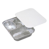 Pactiv Compartmentalized Aluminum Food Trays