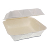 Pactiv Pactiv EarthChoice® Bagasse Hinged Lid Container PCT YMCH09010001